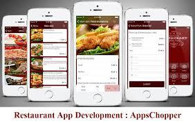 restaurant app development food ordering app development