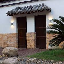 Outdoor Wall Sconce Up Down Lighting Cob Modern Led Wall Lamps 2 5w Indoor Outdoor Lighting Surface