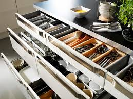 furniture home ikea kitchen pan organizers cabinet slide out