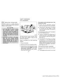 nissan sentra key light blinking remote control nissan sentra 1996 b14 4 g owners manual