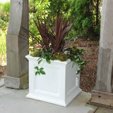 extra large outdoor planters white planters pots u0026 planters the home depot