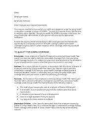 doc 575709 employer termination letter sample u2013 termination