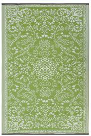 Large Outdoor Camping Rugs by Amazon Com Fab Habitat Murano Recycled Plastic Rug Lime Green