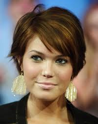 short hairstyles ideas short hair for round faces women nice