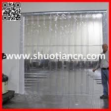 rideau chambre froide chambre froide deshabillage porte rideau d air en plastique st 004