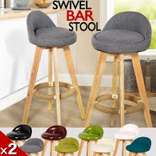 wood swivel bar stools ebay