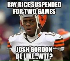 Ray Rice Memes - 22 meme internet ray rice suspended for two games josh gordon be