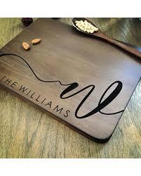 engraved cutting board wedding gift big deal on personalized cutting board personalized custom cutting