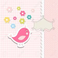 vintage doodle bird for frame royalty free cliparts vectors and