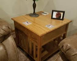 free shipping primitive end table or night stand storage