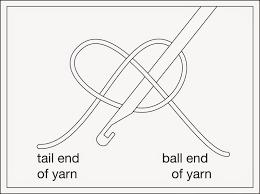 techknitting basic crocheting for knitters chain stitch ch st
