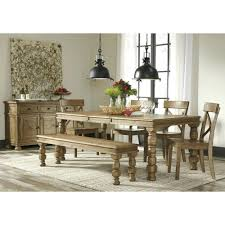 ashley furniture berringer 7 piece 36x60 table chair set del sol