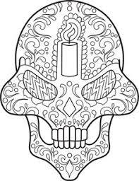 sugar skull coloring 20 skull design kid activities