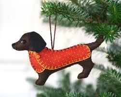 ornaments dachshund ornaments dachshund