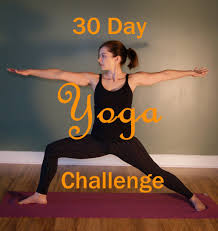 Home Yoga Routine by Practicing Yoga At Home A 30 Day Yoga Challenge Yoga Challenge