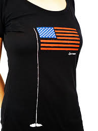 Flag T Shirt Women U0027s American Golf Flag T Shirt Golftonomy