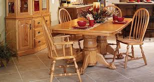 Why Picking Oak Dining Room Chairs Darling And Daisy Amish - Amish dining room table