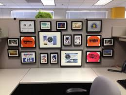 keep your cubicle walls classy with matching frames in various