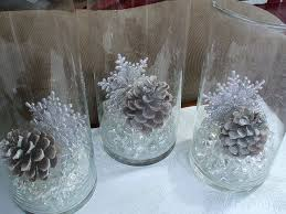 Christmas Table Decorations Blue And White by Best 25 Snowflake Centerpieces Ideas On Pinterest Winter