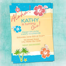 hawaiian beach party invitations inspirational srilaktv com