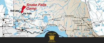 Trans Canada Highway Map by Snake Falls Camp U2013 Location
