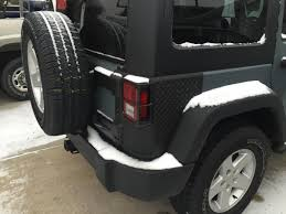 jeep body armor bumper rugged ridge wrangler tall body armor corner guards black