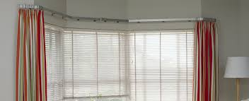 Ceiling Curtain Rods Ideas Bay Window Curtain Rod In Ingenious Mounting