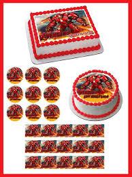 iron cake topper iron hulkbuster edible cake topper cupcake toppers edible