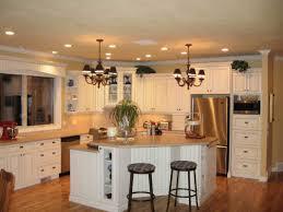 traditional spacious white kitchen interior design ideas with traditional spacious white kitchen interior design ideas with stands free kitchen island table and teak stools