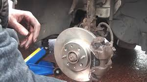chaning brake discs and pads on a fiat punto youtube