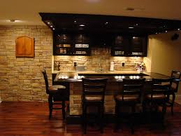 fresh finest finished basement with bar idea 3357