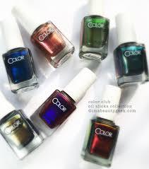 color club oil slick collection mega swatchin u0027 beautygeeks