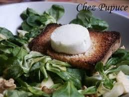 cuisine sucré salé salade de chèvre chaud en sucré salé recette ptitchef