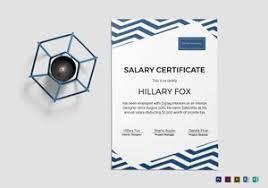 employment certificate designs u0026 templates in word psd