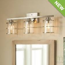 vanity lighting ideas bathroom allen roth 3 light vallymede brushed nickel bathroom vanity light