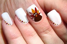 20 terrific turkey nail designs