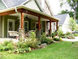 rancher style homes front porch plant for ranch style homes the natural design front