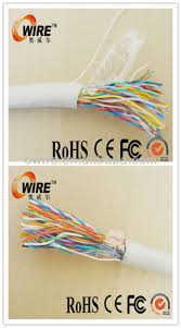 top quality multi pair outdoor underground telephone cable color
