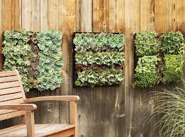 outdoor living wall planters the green head