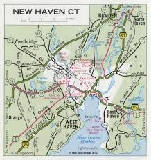 Connecticut Map Usa by Shell Highway Map Northeastern Section Of The United States East