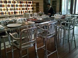 Navy Bistro Chairs Furniture Parisian Bar Stools Paris Bistro Stool Rattan Counter