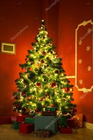 christmas branches with lights christmas tree branches with lights stock photo jeka2009 124614476