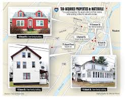 waterville to discuss fate of seven foreclosed properties