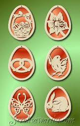 Wooden Easter Decorations Patterns by Scroll Saw Patterns Holidays Easter Easter Egg Hanger