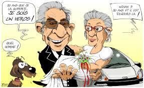 dessin humoristique mariage noces d or moteurs graphiques