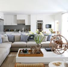 Living Room Layout Ideas With Sectional Sofa Chic Coastal Living Chic Bridgehampton Beach House Like The White