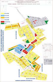 Islamabad Map Islamabad Cooperative Housing Society