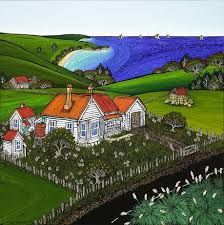 A Place Nz A Place Within All Of Us Print By Nz Artist Fiona Whyte