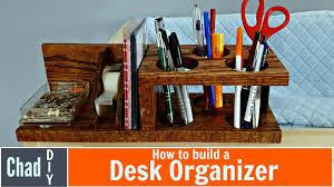 custom diy desk organizer youtube