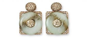 hemmerle earrings an exclusive jewelry selection from the world tefaf